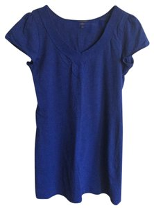 Banana Republic short dress Royal blue Summer on Tradesy
