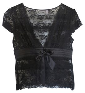 Apt. 9 Top Black Lace