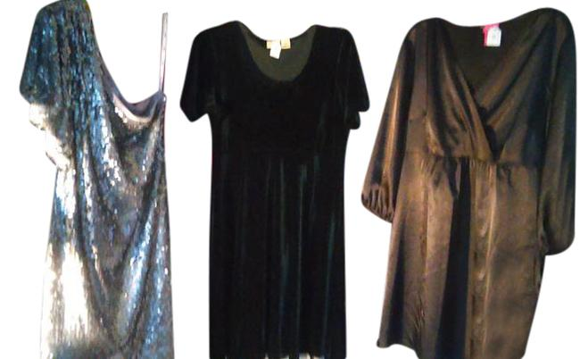 Item - Red/Brown/Green 5 Bundle Short Night Out Dress Size 12 (L)