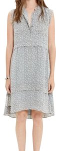 Madewell short dress gray on Tradesy