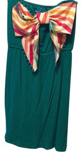 Judith March short dress Teal on Tradesy