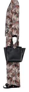 Valentino Rockstud Double Handle Tote in Black