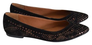 Lucky Brand black/dusted bronze Flats