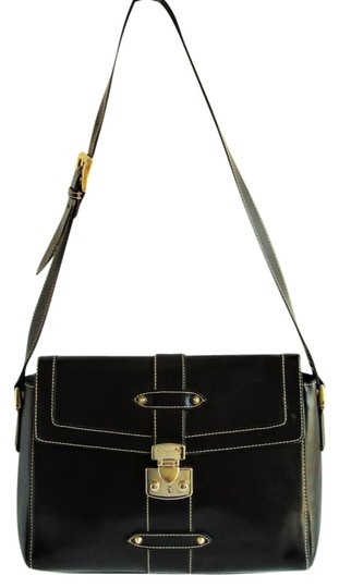 Preload https://img-static.tradesy.com/item/21367000/barbara-milano-italy-medium-black-leather-shoulder-bag-0-1-540-540.jpg