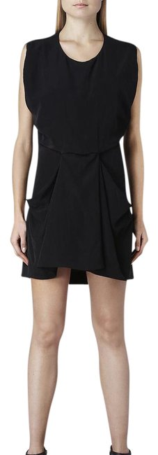 Preload https://img-static.tradesy.com/item/21367046/allsaints-black-draped-short-night-out-dress-size-2-xs-0-1-650-650.jpg
