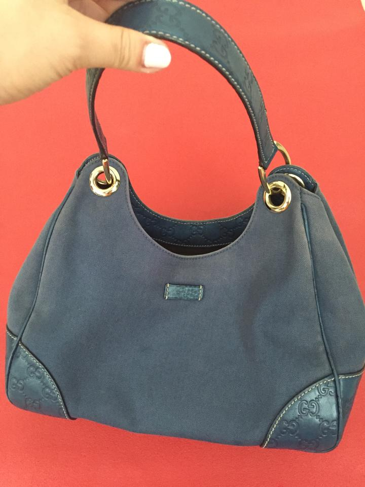 Gucci Canvas Handbag Hobo Bag | Hobos on Sale