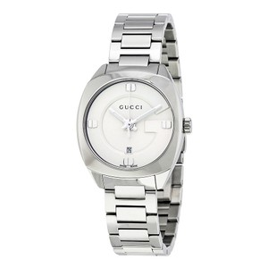 Gucci Gucci GG2570 White Dial Stainless Steel Ladies Watch YA142502