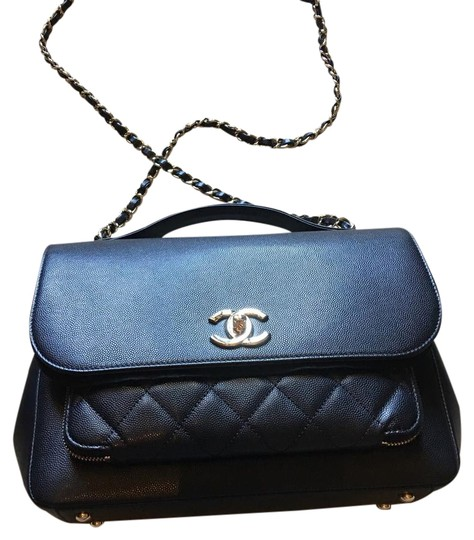 89b535444756 Chanel Flap Cross Body Bag - Tradesy CHANEL Caviar Quilted Large Business  Affinity Flap Black 182371