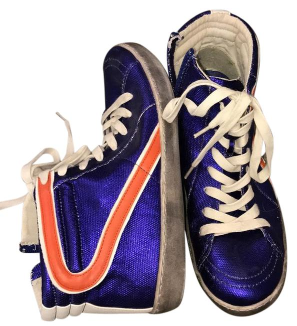 Item - Purple/Orange/White Alva Sneakers Size US Regular (M, B)