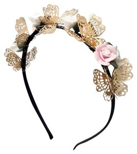 Zara floral and butterfly Headband