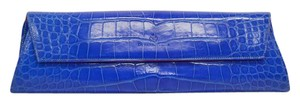 Domenico Vacca No Dust Royal Blue Clutch