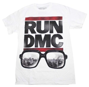 Run DMC Band Hippie Boho The Treasured Hippie T Shirt White