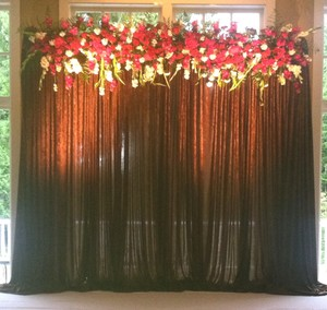 4 Chocolate Penne Curtains
