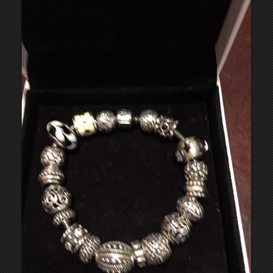 87c5b5325a5ad PANDORA Oxidized Silver Ale 925 Charms (Many Retired & Hard To Find)  Bracelet 53% off retail