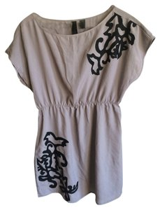 Petticoat Alley short dress Gray Tunic on Tradesy