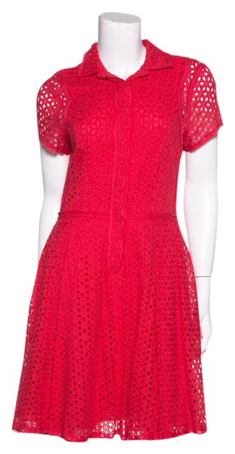 Preload https://img-static.tradesy.com/item/21369097/bcbgmaxazria-eyelet-flare-short-cocktail-dress-size-8-m-0-1-650-650.jpg