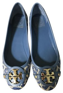 Tory Burch Blue Flats