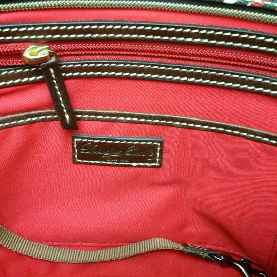 Dooney & Bourke Tote in Black/White/Red