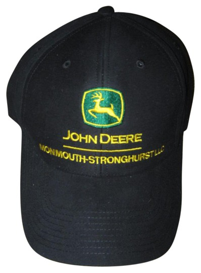 John Deere John Deere black logo hat, adjustable, New!
