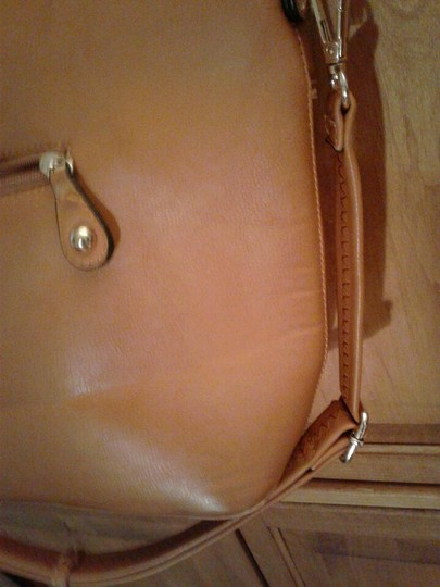 Michael Kors Leather Brass Shoulder Bag