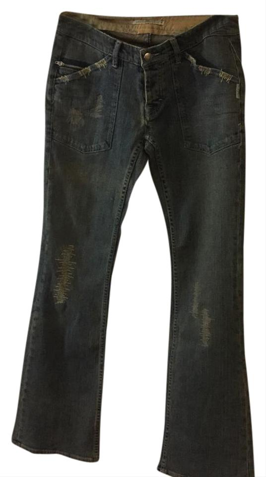 7f924469 Sergio Valente Street Wash Light Punk Boot Cut Jeans Size 29 (6, M ...