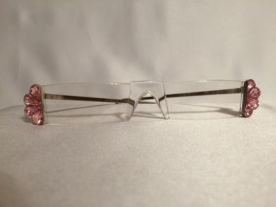 "Other ""Pink Peacock"" Jeweled +2.0 Reading Glasses [ Roxanne Anjou Closet ]"