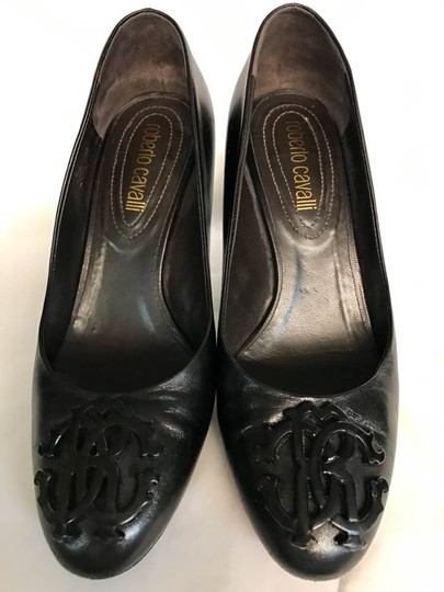 Roberto Cavalli Black Pumps