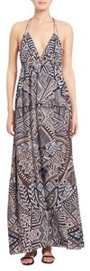 Grey Maxi Dress by BCBGMAXAZRIA