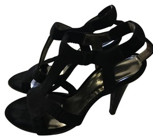 Bottega Veneta Black Velvet Pumps