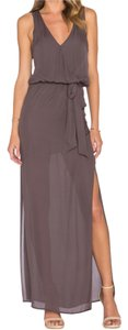 Rory Beca Revolve Taupe Gown Maxi Sexy Dress