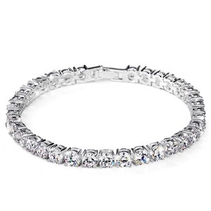 Other Swarovski Crystal Silver Tennis Bracelet DF101