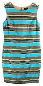The Limited short dress Multi Colored Sleeveless Shift Sheath Striped on Tradesy