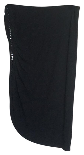Preload https://img-static.tradesy.com/item/21369758/laundry-by-shelli-segal-black-ruched-rhinestone-asymmetric-49807-skirt-size-8-m-29-30-0-1-650-650.jpg