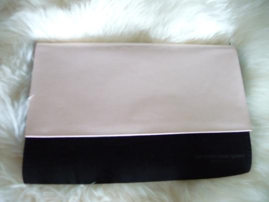 Narciso Rodriguez Baby Pink and Black Clutch