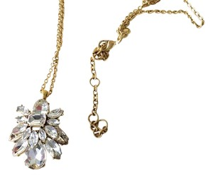 J.Crew Beetle Crystal Necklace
