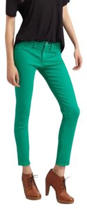 Rag & Bone Intermix Zip Leg Stretchy Skinny Jeans