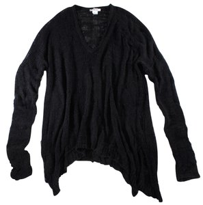 Helmut Lang Open Knit Asymmetrical Sweater