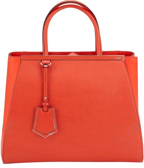 Preload https://img-static.tradesy.com/item/21369938/fendi-saffiano-and-calf-2jours-large-orange-leather-tote-0-1-540-540.jpg