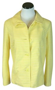 Talbots Yellow and white Jacket