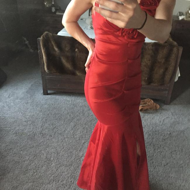 Xscape Gown Long Fitted Mermaid Dress