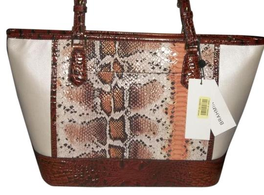 Preload https://img-static.tradesy.com/item/21370111/brahmin-asher-tote-wwallet-in-cr-melon-fisher-white-snake-and-pecan-sculpted-soft-leather-exterior-s-0-4-540-540.jpg