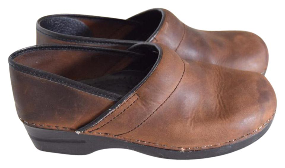 lady Dansko Brown Professional New Mules/Slides New Professional style a8064b