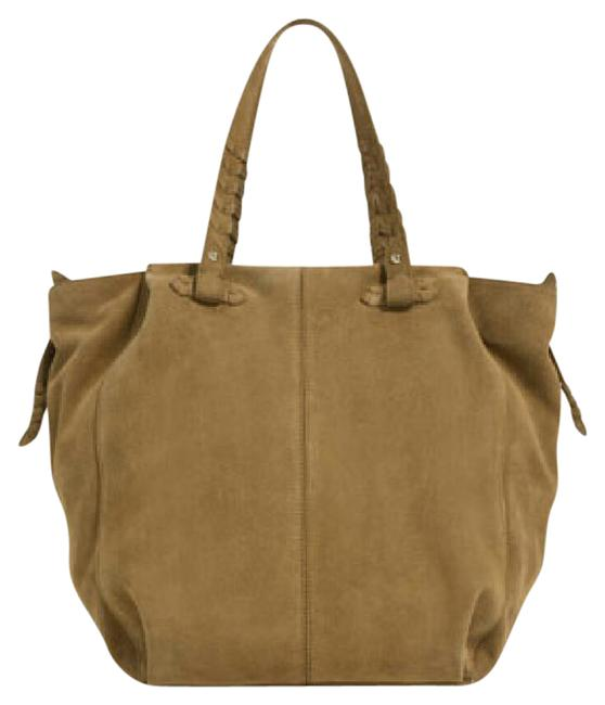 Item - (4101) Mustard Outer Shell Cow Leather Tote