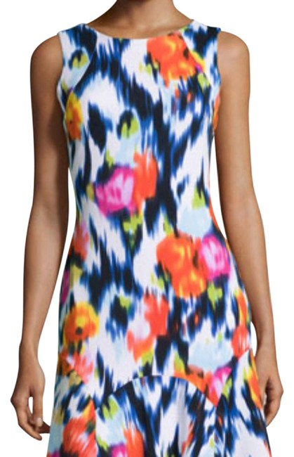 Item - Multicolor Sleeveless Fit and Flare Short Casual Dress Size 10 (M)
