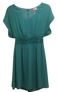 Altar'd State short dress teal on Tradesy