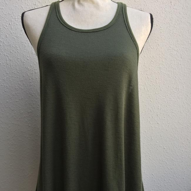 Free People Top olive green