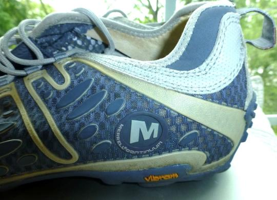 Merrell Continuum Sneakers Lace-up Gray Athletic