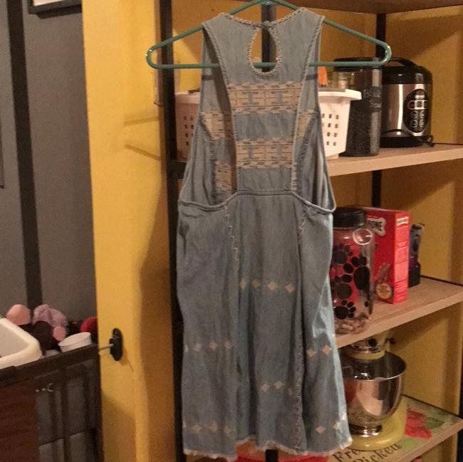 Urban Outfitters short dress light denim on Tradesy
