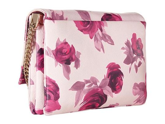 Kate Spade Emerson Place Lenia Roses Printed Leather Shoulder Bag