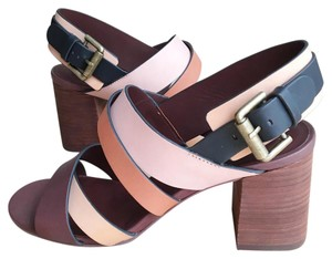 See by Chloé brown, peach, multicolored Sandals